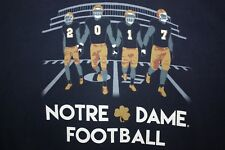 2017 Notre Dame Football T-Shirt Large