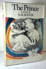 1972 The Prince Tinieblas Trilogy R.M. Koster Rare First Edition w/ Dust Jacket