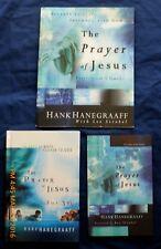 "The Prayer of Jesus SET of 3  w/ Guidebk + Bonus Book ""For You""  Hank Hanegraaff"