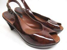 e1e8a669c8d Bella Vita Women s Shoes Size 8 Pump Sandal Brown Patent Leather