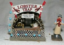 Lobster Trap Boardwalk Booth-Christmas In The City Series-Dept 56-Retired-2006