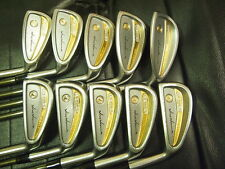 Honma Mens LB606-G New H&F 24K goldline golf iron 3stars Rare & Must See!