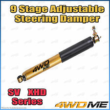 "Toyota Landcruiser 105 Series 4WD XHD SV 9 Stage Adjustable Steering Damper 4""+"