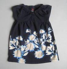 Tea Collection Girls 3 Yrs Sunprint Garden V-Neck Blue Floral Dress EUC