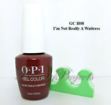 OPI GelColor I'm Not Really A Waitress GC H08 Soak Off LED/UV 2017 5oz +bonus