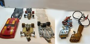 1/24 scale slot cars and  controllers for sale