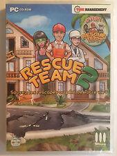 Rescue Team 1 et 2 JEU PC NEUF SOUS BLISTER Gestion et Simulation