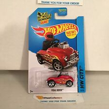Pedal Driver #74 * RED * 2015 Hot Wheels * C28