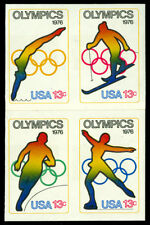 Scott 1698b 1976 13c Olympic Games Issue Imperforate Error Mint VF NH Cat $375