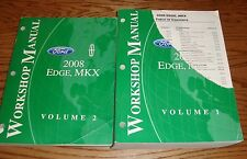 2008 Ford Edge Lincoln MKX Shop Service Manual Volume 1 & 2 Set 08