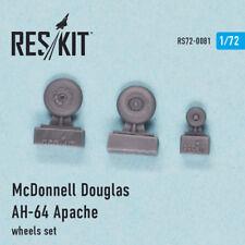 1/72 McDonnell Douglas AH-64 Apache Wheels for Academy/Hasegawa/Italeri/Zvezda