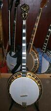 More details for ome banjo gold mogul plectrum banjo