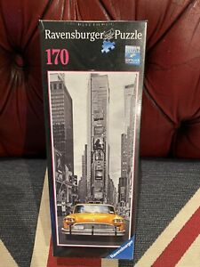 Ravensburger New York Taxi Jigsaw Puzzle 170 Pieces - NEW IN SEALED BOX
