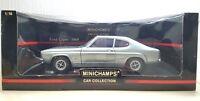 1/18 Minichamps 1969 FORD CAPRI BLUE / SILVER diecast car model
