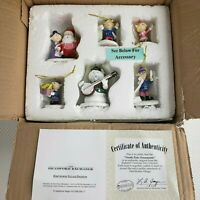 New Bradford Exchange Hawthorne Village Rudolph Christmas Tree Ornaments Set
