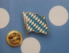 Bayern Raute Rauten Pin Button Badge Anstecker Flaggenpin Anstecknadel