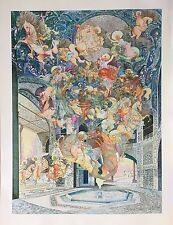 """GUILLAUME AZOULAY """"ISTI BISTI"""" LIMITED EDITION GICLEE ON CANVAS HAND SIGNED COA"""