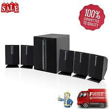 iLive 5.1 TV DVD Home Theather Surround Sound Speaker System with Subwoofer New