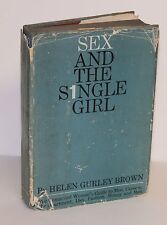 SEX AND THE SINGLE GIRL~Signed Second Editon~HELEN GURLEY BROWN 1962
