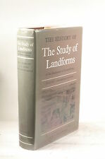 The History of The Study of Landforms Or The Developement of Geomorphology. Volu