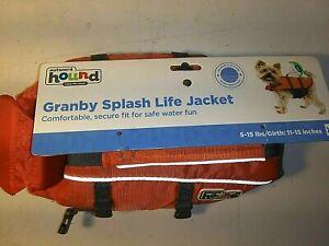 Outward Hound Granby Splash Life Jacket -Extra Small-NEW-Floatation device