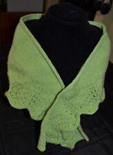 Hand Knitted Ladies Shoulder Shawl.