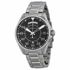 New Hamilton Pilot Day Date Stainless Steel Mens Watch H64615135