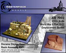 WWII Flak 20/37 Emplacement bunker  1/35th scale CD 7002