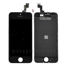 iPhone 5S Black Front LCD Display Touch Sreen Digitizer Mid Frame Assembly Part