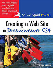 Creating a Web Site in Dreamweaver CS4: Visual QuickProject Guide (Visual QuickP