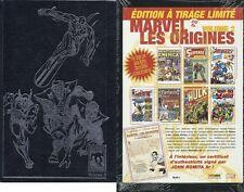 RARE EO MARVEL TIRAGE LUXE LES ORIGINES VOLUME 2 + CERTIFICAT SIGNÉ JOHN ROMITA