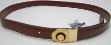 - AUTHENTIQUE  ceinture VALENTINO cuir  TBEG  vintage  à saisir