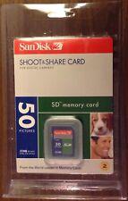 SanDisk SD Memory Card 32MB Secure Digital Brand New in Sealed Package