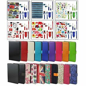 """Universal Accessory Bundle Case Pack Fits Vexia Zippers 7i 3G Plus 7"""" Tablet"""
