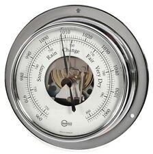 SHIP Barometer BARIGO Tempo Scale Open Chrome 110mm