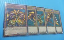 100% Yu-Gi-Oh MB01-JP004~JP008 Exodia the Forbidden One Set Millennium Japanese