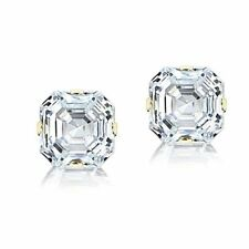 Cubic Zirconia Gold Stud Fine Earrings