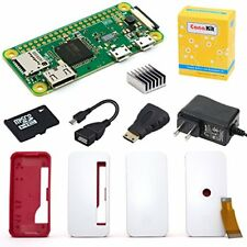 CanaKit Raspberry Pi Zero W (Wireless) Starter Kit with Official Case - 8 GB