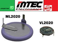 Panasonic VL2020 ML2020 Batteria Ricaricabile BMW MINI TELECOMANDO NO DURACELL
