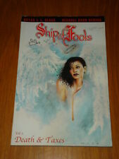 SHIP OF FOOLS VOL 1 DEATH AND TAXES SLG PUBLISHING GRAPHIC NOVEL <