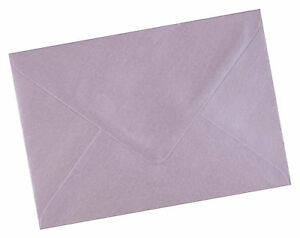 50 x A6 C6 Soft Lilac Pearlescent Envelopes 114 x 162mm - 4.48 x 6.37 inches