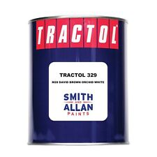 David Brown Orchid White Tractor Paint Machinery Plant Enamel Tractol 1 Litre 1L
