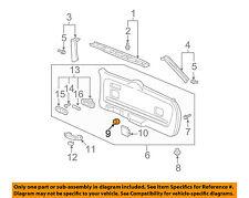 HONDA OEM Pilot Liftgate Tailgate Hatch-Gate Trim Panel Hole Cover 83201SS0000ZU