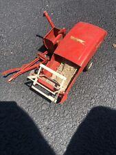 1/16 CARTER TRU SCALE INTERNATIONAL RED TRACTOR COMBINE PRESSED STEEL FARM TOY
