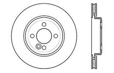 Centric Parts 121.34100 Front Disc Brake Rotor