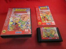 Asterix and the Great Rescue (Sega Genesis, 1994) COMPLETE w/ Box manual game Q1