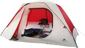 Six Person Dome Outdoor Camping Tent Fits Two Queen Sized Air Mattresses
