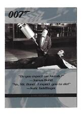 2004 The Quotable James Bond Trading Cards Promo Card P1