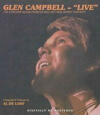Glen Campbell - Live CD 2nd Record Album Sell out Tour