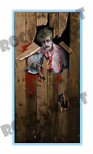 Realistic Zombie Door Cover Decoration 6ft x 3ft RM3398
